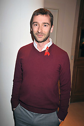 CHARLIE CONDU at the Lighthouse Gala Charity Auction in aid of the Terrence Higgins Trust held at Christie's, St.James' London on 23rd March 2009.