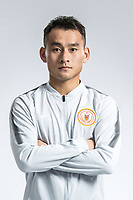 **EXCLUSIVE**Portrait of Chinese soccer player Chen Jie of Beijing Renhe F.C. for the 2018 Chinese Football Association Super League, in Shanghai, China, 24 February 2018.