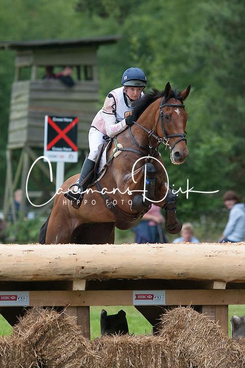 Georgie Spence (GBR) - Running Brook  Cross Country - CCI4* Luhm&uuml;hlen 2012<br /> &copy; Hippo Foto - Jon Stroud
