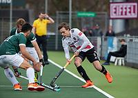 AMSTELVEEN - Floris Middendorp (Adam)  tijdens  de hoofdklasse hockeywedstrijd Amsterdam-HC Rotterdam (7-1).    COPYRIGHT KOEN SUYK