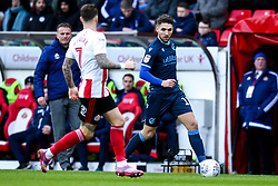 Luke Leahy of Bristol Rovers takes on Chris Maguire of Sunderland - Mandatory by-line: Robbie Stephenson/JMP - 22/02/2020 - FOOTBALL - Stadium of Light - Sunderland, England - Sunderland v Bristol Rovers - Sky Bet League One