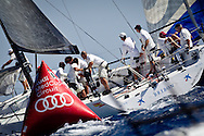 SPAIN, Barcelona. 16th September 2011. AUDI MedCup, Conde de Godo Barcelona Trophy. TP52, BRIBON.