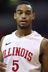 19 November 2011:  Anthony Cousin during an NCAA mens basketball game between the Lipscomb Bison and the Illinois State Redbirds in Redbird Arena, Normal IL