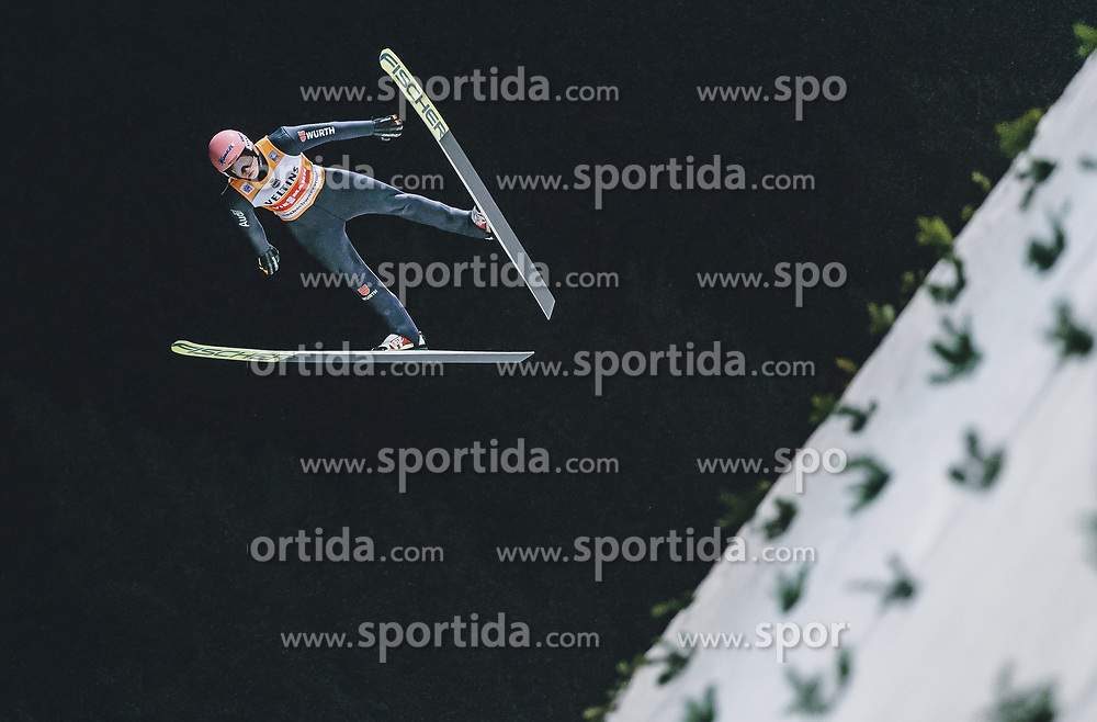 17.01.2020, Hochfirstschanze, Titisee Neustadt, GER, FIS Weltcup Ski Sprung, im Bild Karl Geiger (GER) // Karl Geiger of Germany during the FIS Ski Jumping World Cup at the Hochfirstschanze in Titisee Neustadt, Germany on 2020/01/17. EXPA Pictures © 2020, PhotoCredit: EXPA/ JFK