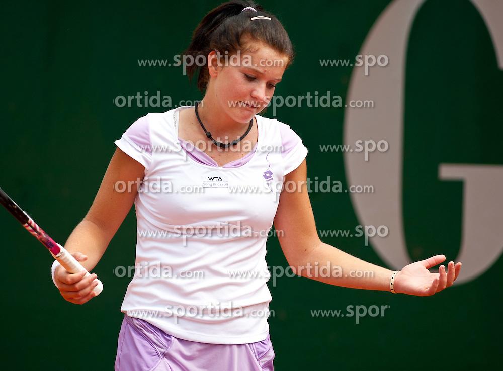 13.07.2011, Hotel Europaeischer Hof, Bad Gastein, AUT, WTA Tour, Nuernberger Gastein Ladies 2011, 1. Runde, Nastja Kolar (SLO) vs Ksenia Pervak (RUS), im Bild Nastja Kolar (SLO) // during WTA Tour Nuernberger Gastein Ladies 2011 tennis tournier, round 1 at hotel Europaeischer Hof, Bad Gastein, Austria on 13/7/2011. EXPA Pictures © 2011, PhotoCredit: EXPA/ J. Groder