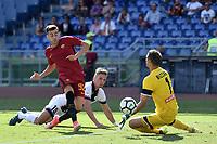 Gol Stephan El Shaarawy Roma 3-0 Goal celebration <br /> Roma 23-09-2017 Stadio Olimpico Calcio Serie A 2017/2018 AS Roma - Udinese Foto Andrea Staccioli / Insidefoto