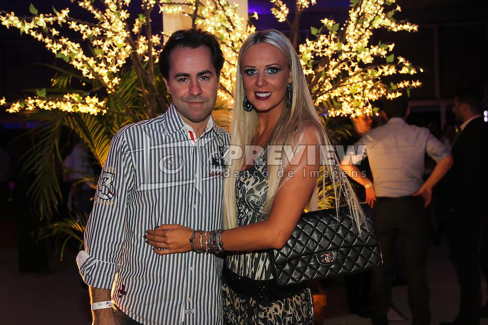 Bruna Boff e Alexandre Reis na festa de inauguração do Viva Open Mall. FOTO: Dani Barcellos/ Agência Preview