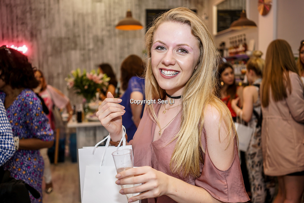 Josie Downing YouTube josiejourney11 attends the Threads & Co Beauty launches permanent retail concept store everything from coffee to beauty to retail therapy on 24th May 2017. by See Li