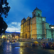 Cathedral of Oaxaca.Oaxaca, Mexico.