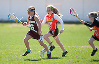 Lakes Region Lacrosse U11 girls versus Concord May 1, 2011.Lakes Region Lacrosse U11 girls versus Concord Crush May 1, 2011.