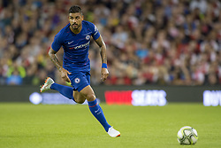 August 2, 2018 - Dublin, Ireland - Emerson Palmieri of Chelsea in action during the International Champions Cup match between Arsenal FC and Chelsea FC at Aviva Stadium in Dublin, Ireland on August 1, 2018  (Credit Image: © Andrew Surma/NurPhoto via ZUMA Press)