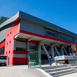 20130618: SLO, Basketball - Reconstruction of Arena Podmezakla at Jesenice for Eurobasket 2013