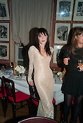 ANNABELLE NEILSON, Charles Finch and  Jay Jopling host dinner in celebration of Frieze Art Fair at the Birley Group's Harry's Bar. London. 10 October 2012.
