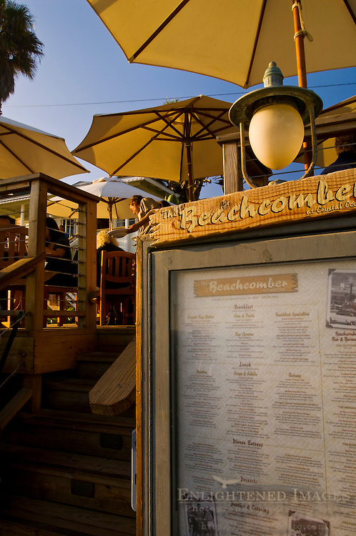 The Beachcomber Cafe, Crystal Cove State Park Historic District, Corona del Mar, Newport Beach, California