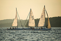 LWSA J80 Thursday night racing series on Lake Winnipesaukee.  ©2018 Karen Bobotas Photographer