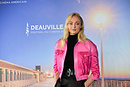 Sophie Turner photocall in Deauville