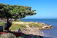 Shoreline in Campechuela, Granma, Cuba.