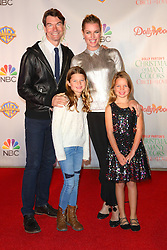 Celebrities walk the red carpet for the 'Dolly Parton's Christmas of Many Colors: Circle of Love' Premiere held at Dollyworld in Tennessee. 22 Nov 2016 Pictured: Jerry O'Connell, Rebecca Romijn, Dolly Rebecca-Rose O'Connell, Charlie Tamara-Tulip O'Connell. Photo credit: American Foto Features / MEGA TheMegaAgency.com +1 888 505 6342