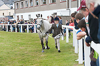 21/09/2014 Handling at a show for the first time 10 year old Ciara Heanue from Clifden with Crossowen Joy at the Connemara Pony Show 2014 in Clifden Co. Galway. Photo:Andrew Downes