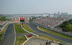 FORMEL 1: GP von Kanada, Montreal, 13.06.2005<br /> Rennstrecke, Uebersicht, Illustration<br /> © pixathlon
