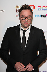 DANNY WALLACE arrives for the Radio Academy Awards, London, United Kingdom. Monday, 12th May 2014. Picture by i-Images