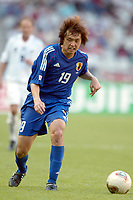 FOTBALL - CONFEDERATIONS CUP 2003 - GROUP A - 030618 - NEW ZEALAND v JAPAN - YASUHITO ENDO (JAP) - PHOTO STEPHANE MANTEY / DIGITALSPORT