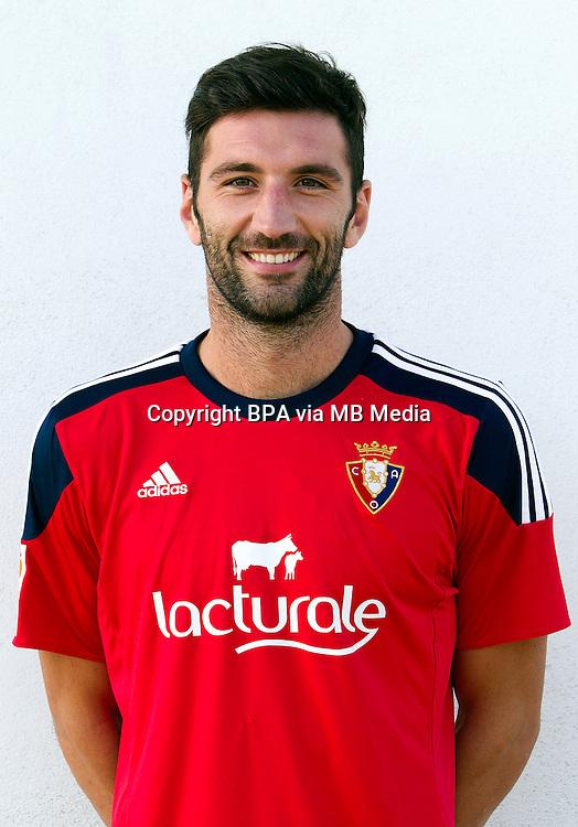 Spain - La Liga Adelante 2015-2016 / <br /> ( Club Atletico Osasuna ) - <br /> Bogdan Milic