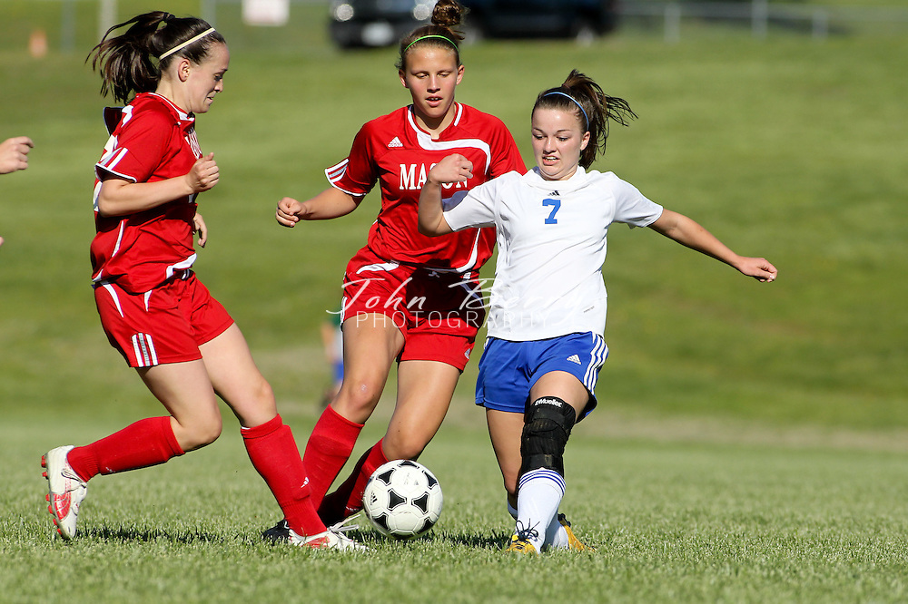 May/5/11:  MCHS Varsity Girls soccer vs George Mason.  George Mason wins 8-0.