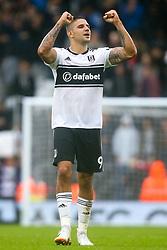 Aleksandar Mitrovic of Fulham celebrates victory over Burnley - Mandatory by-line: Robbie Stephenson/JMP - 26/08/2018 - FOOTBALL - Craven Cottage - Fulham, England - Fulham v Burnley - Premier League