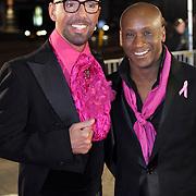 NLD/Amsterdam/20080929 - Pink Ribbon gala 2008, Jerrel Houtsnee en Maik de Boer
