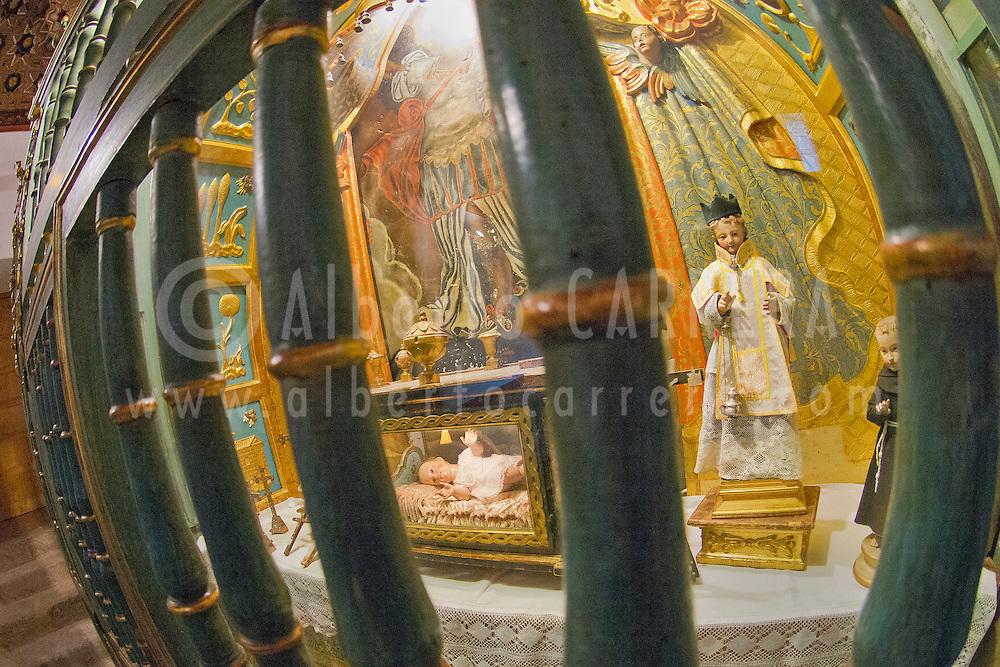 Alberto Carrera, Monastery of San Antonio el Real,  Segovia, World Heritage Site UNESCO, Castilla y Le&oacute;n, Spain, Europe.<br /> <br /> EDITORIAL USE ONLY