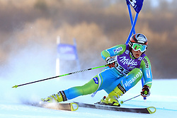 Mateja Robnik of Slovenia skiing in first run Maribor women giant slalom race of Audi FIS Ski World Cup 2008-09, in Maribor, Slovenia, on January 10, 2009. (Photo by Vid Ponikvar / Sportida)