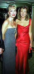 Left to right, MRS DONATELLA FLICK and <br /> PRINCESS CHANTAL OF HANOVER, at a ball<br />  in London on 13th October 1999.MXP 57