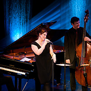 Jane Monheit group performs at The Music Hall, Portsmouth, NH - Feb. 11, 2011