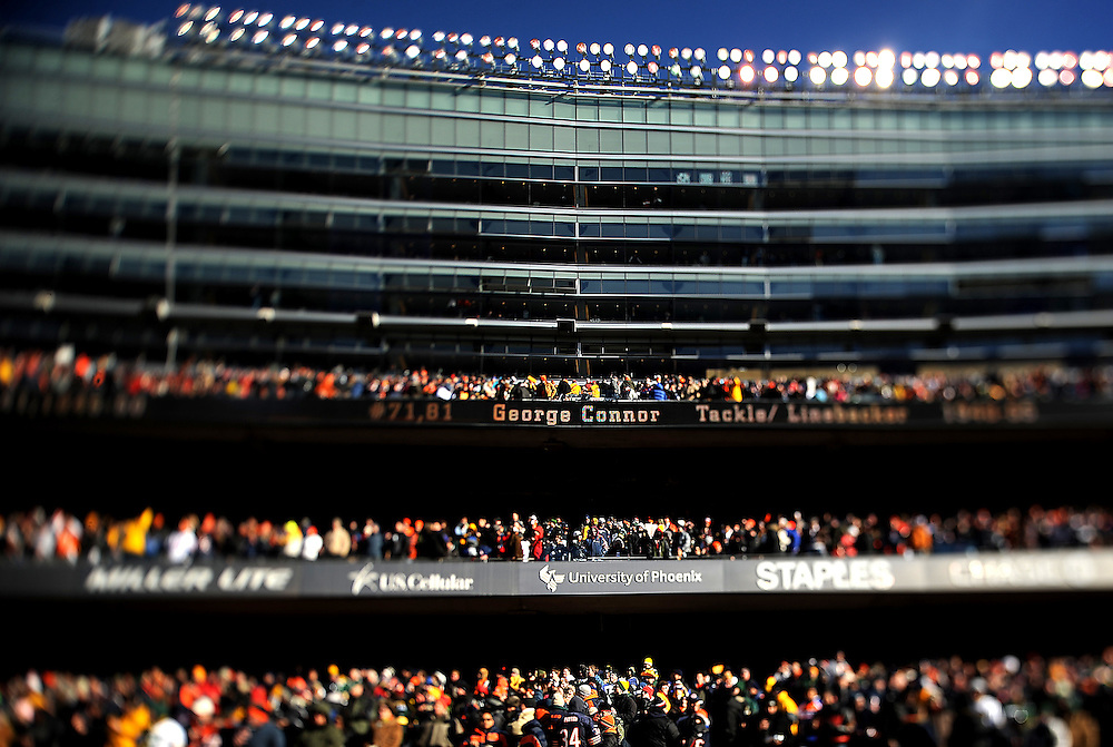 Photo By Michael R. Schmidt.Soldier Field Chicago, 2011..