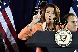 Vice President Joe Biden and House Democratic Leader Nancy Pelosi headline Philadelphia Democratic City Committee's Jefferson-Jackson Autumn Event, in Philadelphia, PA, on October 31, 2016.