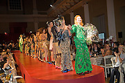 Chaos Point: Vivienne Westwood Gold Label Collection performance art catwalk show and auction in aid of the NSPCC. Banqueting House. London. 18 November 2008<br />