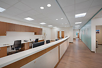 Interior photo of Maryland Oncology in Branywine MD by Jeffrey Sauers of Commercial Photographics, Architectural Photo Artistry in Washington DC, Virginia to Florida and PA to New England