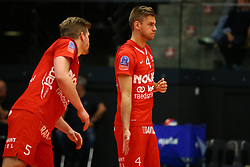 20160505 BEL: Volleybal: Noliko Maaseik - Knack Roeselare, Maaseik  <br />Jelte Maan, Gijs Jorna