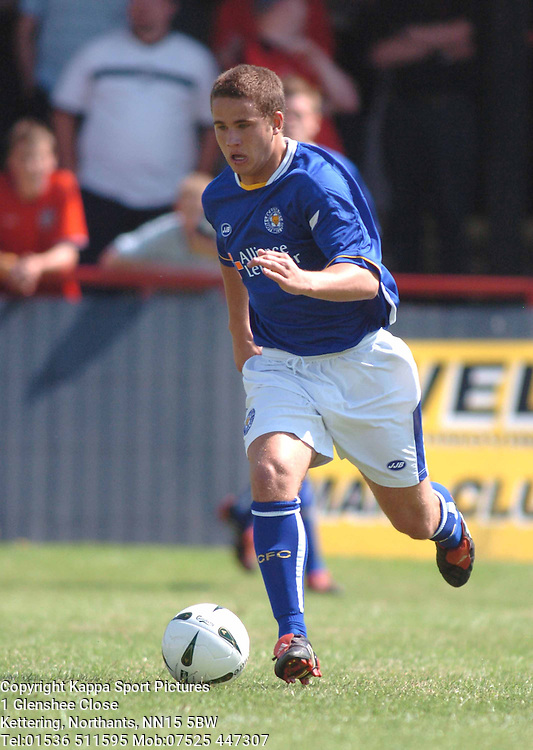 Kettering Town v Leicester City Pre Season Friendly 10th July 2005 :Photo Mike Capps