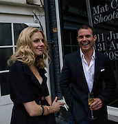 DONNA AIR; Shooting Stars- Mat Collishaw. Haunch of Venison. London. 10 July 2008 *** Local Caption *** -DO NOT ARCHIVE-© Copyright Photograph by Dafydd Jones. 248 Clapham Rd. London SW9 0PZ. Tel 0207 820 0771. www.dafjones.com.