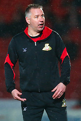 Doncaster Rovers manager Darren Ferguson - Mandatory by-line: Robbie Stephenson/JMP - 24/04/2018 - FOOTBALL - The Keepmoat Stadium - Doncaster, England - Doncaster Rovers v Blackburn Rovers - Sky Bet League One