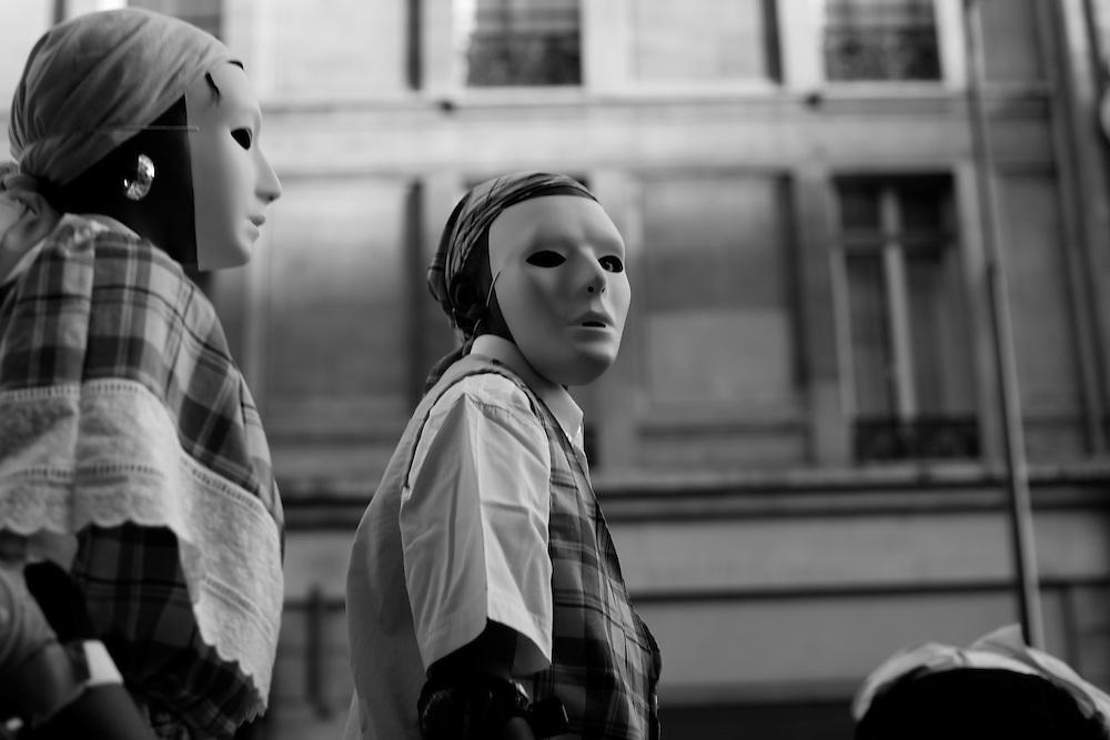White mask 1, Paris