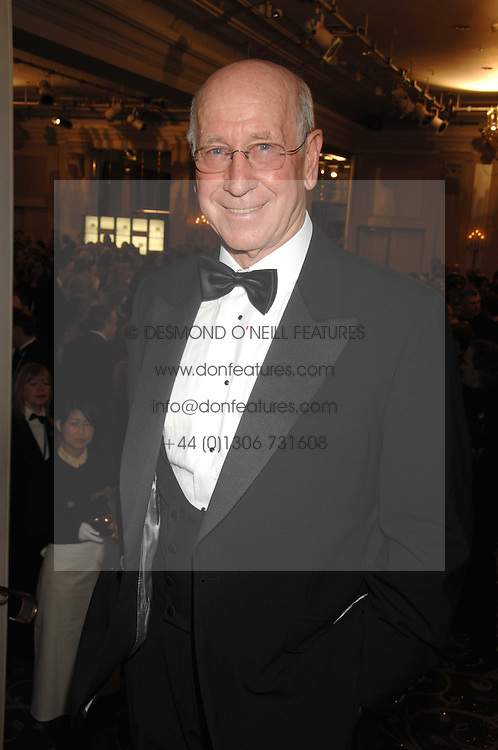 SIR BOBBY CHARLTON at the Galaxy British Book Awards 2007 - The Nibbies held at the Grosvenor house Hotel, Park Lane, London on 28th March 2007.<br /><br />NON EXCLUSIVE - WORLD RIGHTS