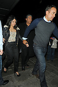 29.MARCH.2011. LONDON<br /> <br /> VANESSA HUDGENS AND HER MUM GINA LEAVING YAUATCHA SUSHI RESTAURANT IN SOHO AFTER EATING OUT WITH THE REST OF THE CAST OF HER NEW MOVIE SUCKER PUNCH.<br /> <br /> BYLINE: EDBIMAGEARCHIVE.COM<br /> <br /> *THIS IMAGE IS STRICTLY FOR UK NEWSPAPERS AND MAGAZINES ONLY*<br /> *FOR WORLD WIDE SALES AND WEB USE PLEASE CONTACT EDBIMAGEARCHIVE - 0208 954 5968*