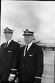 1964 - New Aer Lingus pilots at Dublin Airport