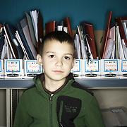 Logan Schreiner. Casey Brennan's kindergarten class at Hopkins Elementary School in Sherwood on Wednesday, May 23, 2012.