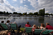 Henley on Thames, England, United Kingdom, 7th July 2019, Henley Royal Regatta, Finals Day, Henley Reach, [© Peter SPURRIER/Intersport Image]<br /> <br /> 15:26:57 1919 - 2019, Royal Henley Peace Regatta Centenary,