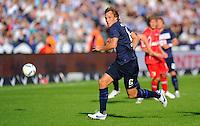 17. September 2011: Berlin, Olympiastadion: Fussball 1. Bundesliga, 6. Spieltag: Hertha BSC - FC Augsburg: Berlins Andreas Ottl am Ball.