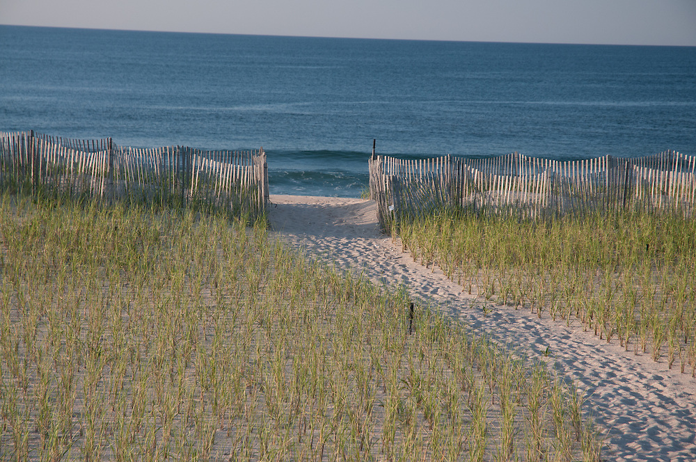 Path to Beach, Southampton, Long Island, New York
